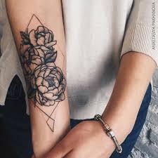 Pinterest Jennnarossse Tatoo пионы татуировка мандала милые тату