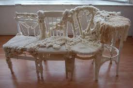 fiber furniture. Knitting Furniture Together Fiber S