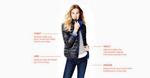 Ae Jeans Size Chart Joe Fresh Size Chart