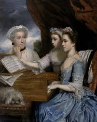 getting dressed in the th century blog liverpool museums mrs paine and her daughters 1975 sir joshua reynolds c national
