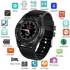 LIGE <b>2019</b> New <b>Smart Watch Men</b> Women Bluetooth Touch Screen ...