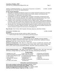 Senior It Manager Resume Example In Technical Support Manager Resume