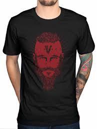 Ragnar T Shirt Design T Shirt Men 2018 Fashion High Quality Hot Sale Vikings