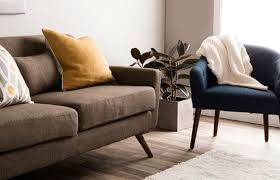 mod living furniture. A Low Profile Sofa In Mid-Century Modern Living Room Mod Furniture