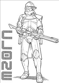 Clone Star Wars Coloring Pages Boba Fett Within Page