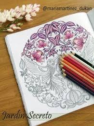 colorir color secret garden jardim secreto