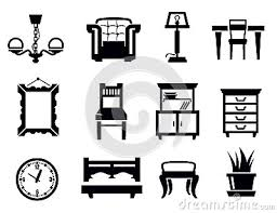 furniture clipart black and white.  Furniture Couch Clipart Black And White  Panda Free Images Furniture   Intended T