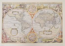 United Inches Framing Chart Ba Chart Arc5494 The Admiralty Collection The World