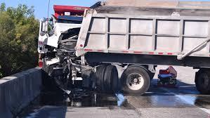 Dump Truck Crashes Causing Delays In Cocoa Merritt Island