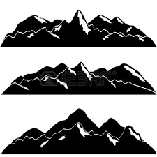 pin Peak clipart mountain silhouette #2