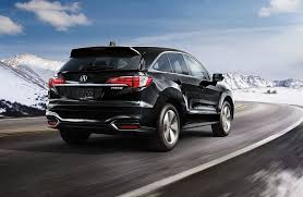 2018 acura rdx. exellent rdx 2018 acura rdx exterior rear angle mountains throughout acura rdx u