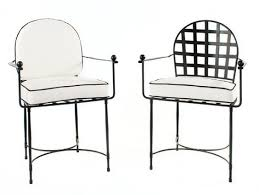 black white outdoor dining chairs for