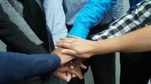 teamwork office wallpaper. Group Of People Hands Join Together HD Wallpaper Teamwork Office N