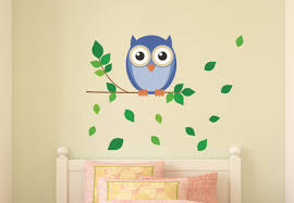 owl wall decals