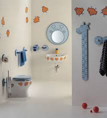 bathroom: Pretty Style Of Fun Bathroom Ideas With Adorable Wall Decor Of  Small Fish Painting