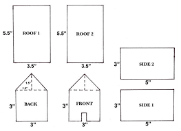 Printable Dog House Template Download Them Or Print