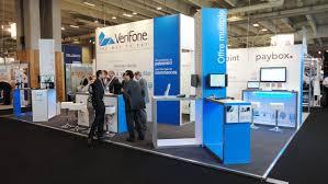 Booth Design Services Exhibition Services Verifone Paris Stand Design