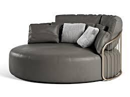 curved leather sofa charleston curved sofa by formitalia