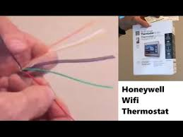 installing common wire for wifi thermostat youtube 4 Wire Thermostat Wiring Diagram installing common wire for wifi thermostat