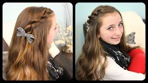 You Tube Hair Style the knotted pullback cute girls hairstyles youtube 5195 by wearticles.com