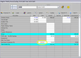 Pay Deduction Calculator Ace Payroll Kiwisaver Pay Calculation