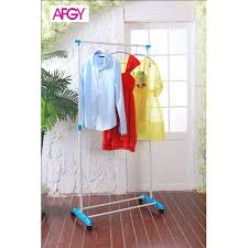 afgy fgr 113 flexi single pole garment rack