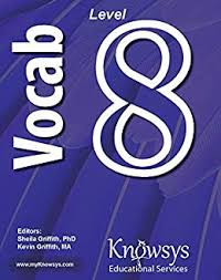 Knowsys Level 8 Vocabulary Flashcards (Knowsys Vocabulary Builder Series) -  Kindle edition by Griffith, Sheila, Griffith, Kevin. Reference Kindle  eBooks @ Amazon.com.