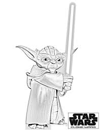 Small Picture Star Wars Yoda Coloring Pages Coloring Pages For Kids T Shirts