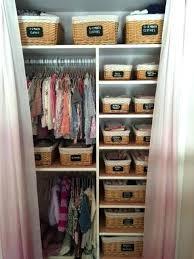 baby clothes storage ideas closet boy