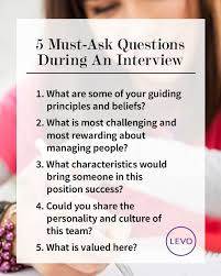 Questions To Ask When Interviewing 5 Must Ask Questions During An Interview Nifty Stuff Job
