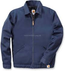 carhartt twill work jacket casual jackets blue 16689183