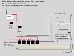 typical rv wiring diagram tail brake lights trailer wiring basics for towing