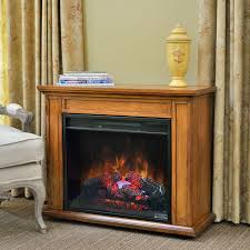 carlisle 1 000 sq ft infrared fireplace heater in oak 23irm1500 o107
