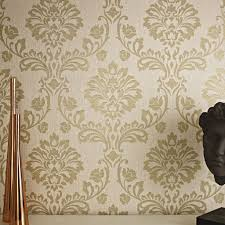 on graham and brown wall art ireland with aurora beige and gold wallpaper gold damask wallpaper