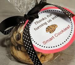 teacher appreciation gift idea smart cookies printable