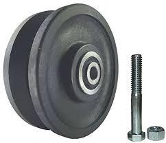 sliding barn door nylon wheel kit 4 x1 5 extra quiet and smooth amazon industrial scientific