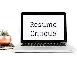 Resume Critique Free Reddit Toronto Best Service Waterloo Resumes