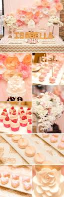Gourgeous gold and pink first birthday party for a little girl. Stunning  flower backdrop!