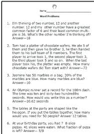 4th grade math problems with answers grade math word problems worksheets unique realistic math problems help graders solve real 4th grade math problems and