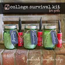 mason jar college survival kit postcards from the ridge masonjar balljar canitforward