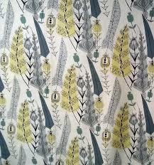 mary white cottage textile fabric print uk 50 s