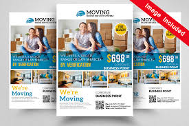 Moving Flyer Template We Are Moving Flyer Template By Designhub Thehungryjpeg Com