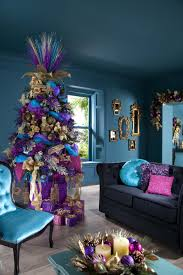 Purple Decorating Living Rooms 37 Inspiring Christmas Tree Decorating Ideas Decoholic