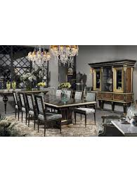coleccion alexandra uk luxury bespoke furniture laura dining table with columns marquetry top 285 133 alexandra furniture