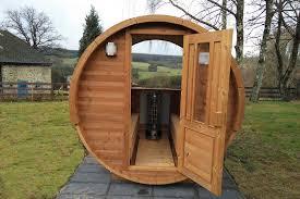 Elegant Par Conséquent, Il Est Le Choix Du0027excellence Pour Le Sauna Extérieur. Vous  Serez En Mesure Du0027utiliser Un Sauna En Termowood De 20 à 25 Ans.