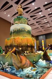 Southern Blue Celebrations Fishing Cake Ideas Inspirations