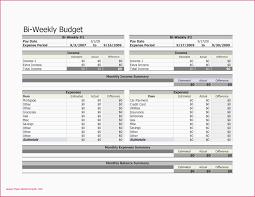 Weekly Monthly Budget Template Bi Weekly Monthly Budget Spreadsheet Hoa Budget Template Excel Juve