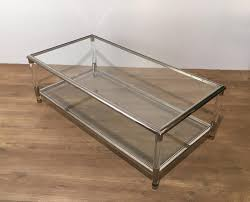 ... Coffee Table, Stylish Clear Rectangle Modern Plexiglass Coffee Table  Idea To Complete Living Room Decoration ...