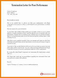 Warning Letter Format For Poor Performance Gallery - Letter Format ...