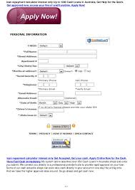 Pay Calculator Australia Loan Repayment Calculator Interest Only Up To 1000 Pay Day Loans Aust